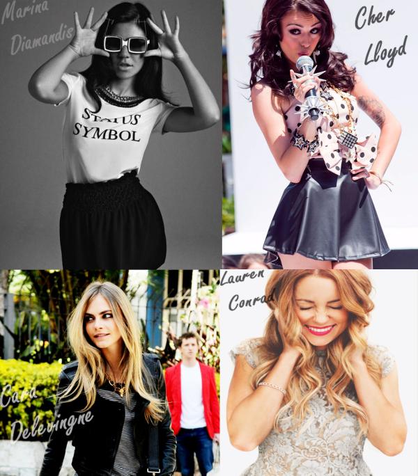 Marina, Cher, Cara, LC