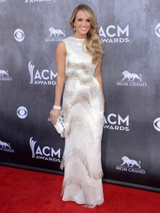 Basically, Carrie Underwood can do no wrong. Seriously, how does she always look this pretty?