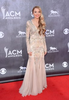 Danielle Bradbery shone at the ACMs. I give my vote for best dressed of the night due to how much she's matured in the past year.