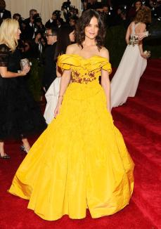Belle you're at the wrong ball. Katie is a little too old her this to be an acceptable dress.