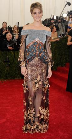 SAD. Shailene is beautiful and has been so on point throughout her red carpet appearances.