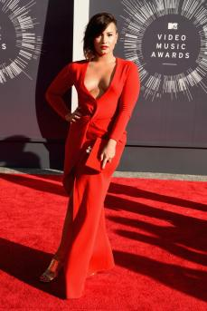 I loved Demi's look--no surprise there. Demi is looking better than ever. You go girl!