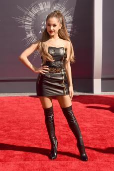 This is physically painful for me. I love Ariana but can we stop with the go go boots please?