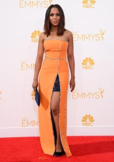 I'm pretty sure Kerry Washington is the only person this dress could look good on.