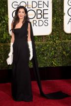 """AMAZING dress but I could have done without the gloves. I understand the """"old Hollywood"""" look but the dress was fine without them."""