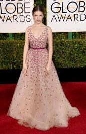 After playing Cinderella in Into The Woods and showing up to the Golden Globes in this dress, I'm convinced Anna Kendrick IS a princess. This is one of my favorites of the night.