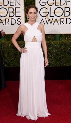Emily Blunt looked like a vision in this white gown. One of my favorites.