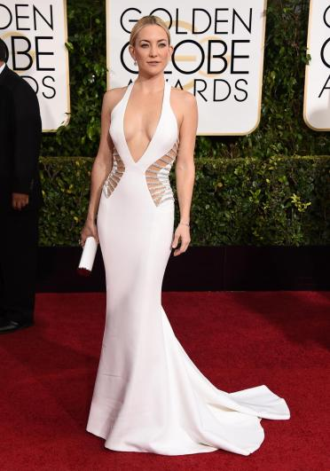 This was the best dress of the night. Kate Hudson looked amazing with these side cutouts.