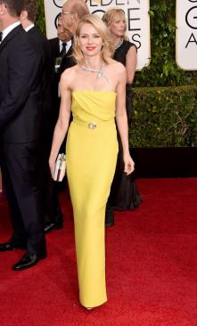 The only time I like yellow dresses; seriously.